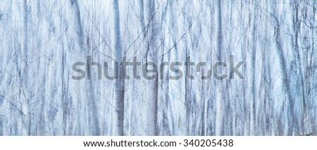 Abstract background of a winter landscape - stock photo
