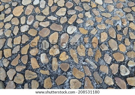 abstract background of brick floor
