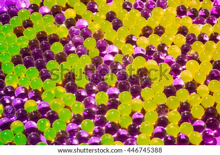 abstract background of bright colored balls - stock photo