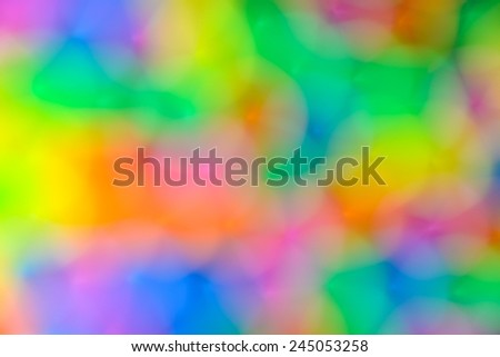 abstract background  of  colorful plastic tube not clear