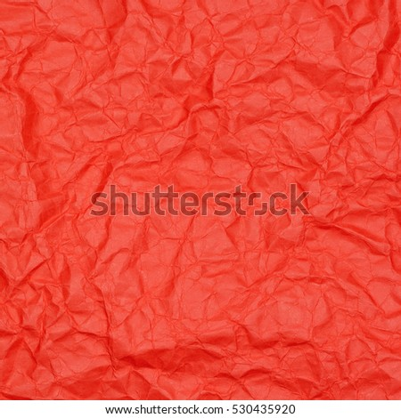 abstract background of crumpled scarlet paper