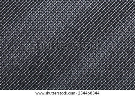 abstract background of dark metal wired texture - stock photo