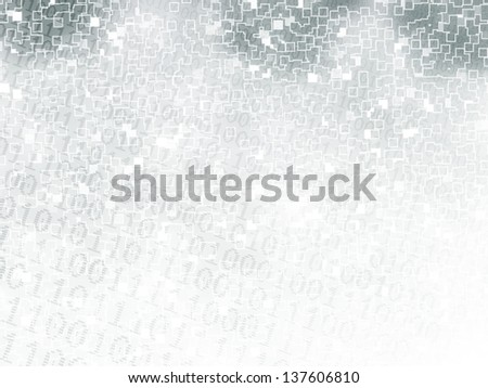 Abstract background of digital binary computer language code. - stock photo
