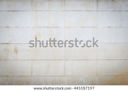 abstract background of dirty lightweight concrete brick wall