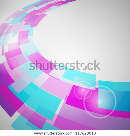 Abstract Background of geometric elements. illustration.
