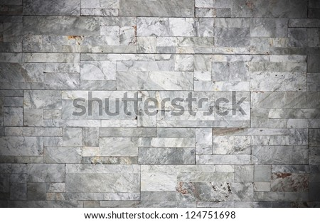 abstract background of granit block - stock photo