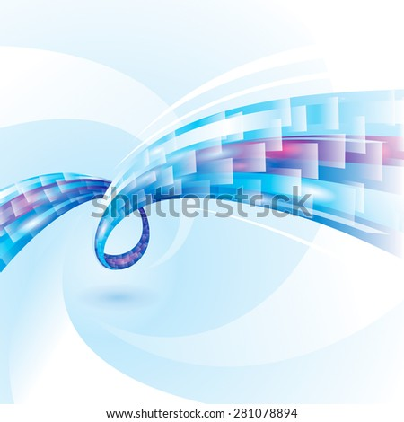 Abstract background of internet connections.  - stock photo