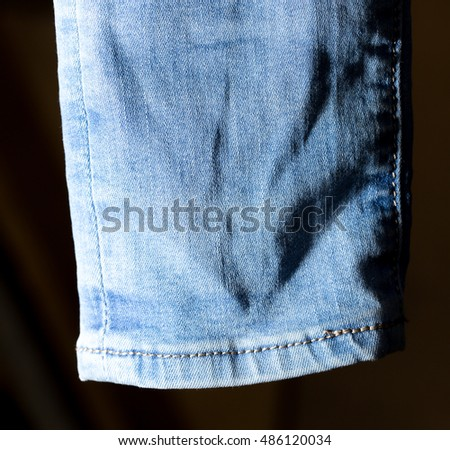 abstract background of jeans