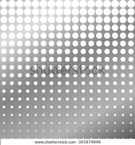 Abstract background of perforated metal halftone illustration - stock photo