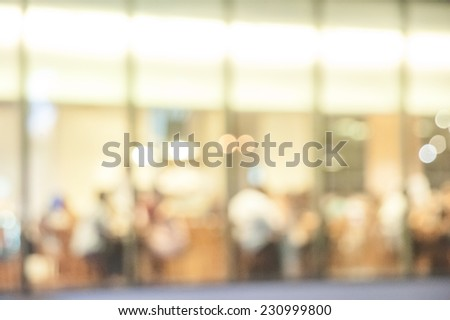 Abstract background of Restaurant - stock photo