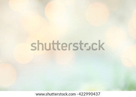 Abstract background of retro tinted holiday lights with copy space.