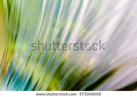 Abstract background of running water