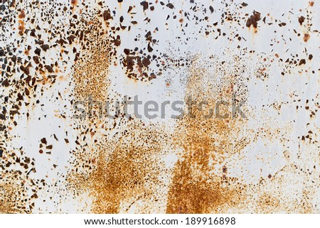 abstract background of rusty painted metal - stock photo
