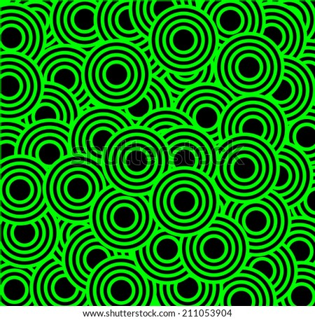 abstract background of scattered circles