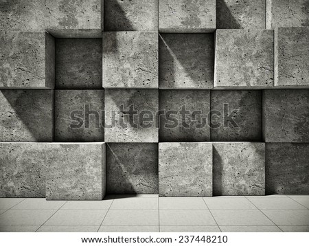 Abstract background of the concrete - stock photo