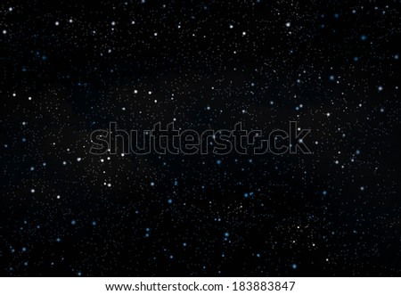 abstract background of the night sky