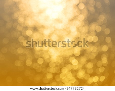 abstract background of water reflect light bokeh