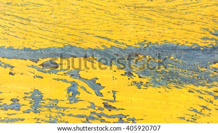 Abstract background of wood painted yellow.