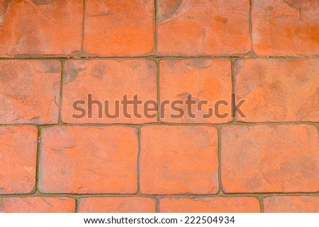 abstract background on concrete