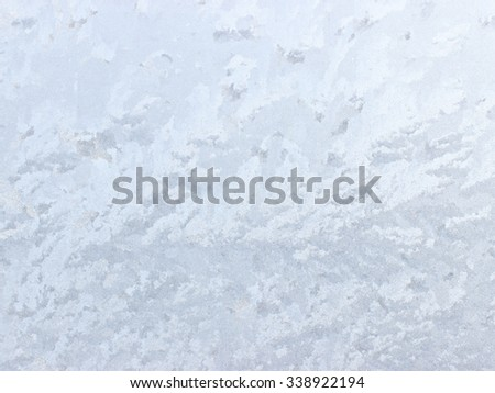 Abstract background on frosty glass - can be used as a background.