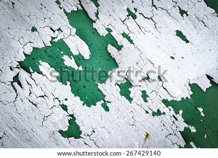 abstract background or texture eroded white synthetic paint