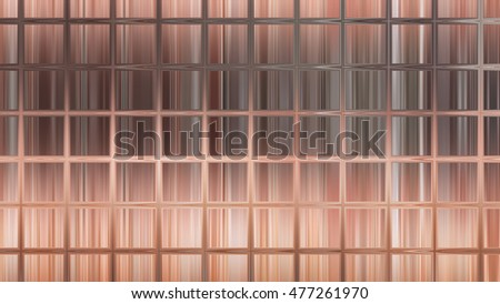 abstract background. orange mosaic. illustration digital.