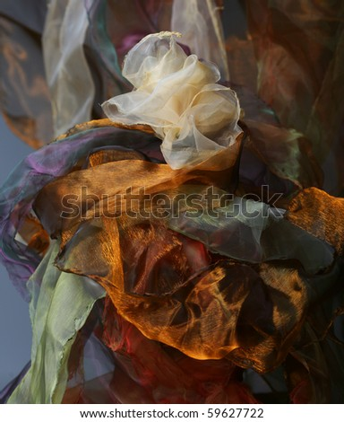 abstract  background organza - stock photo