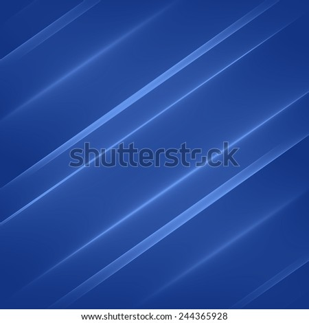 Abstract background pattern. Bright blue diagonal lines. Digital art.