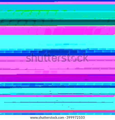 Abstract background pattern in glitch style design for brochure, web site backdrop and other business projects. Raster bitmap in blue and pink colors.