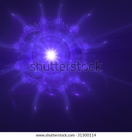 Abstract background. Purple - white palette. Raster fractal graphics.