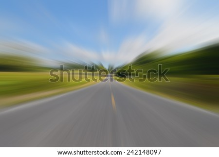Abstract Background Radial Motion Blur