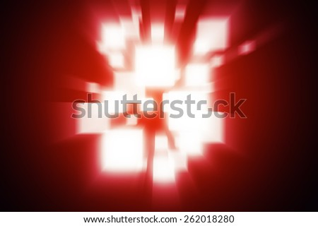 Abstract background rays red colour - stock photo