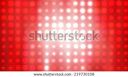 abstract background. red background with squares and circles