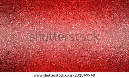 abstract background. red mosaic - stock photo