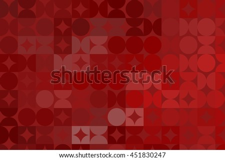 abstract background. red mosaic