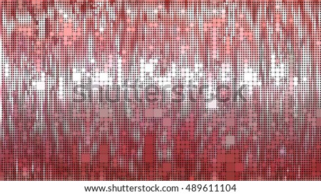 abstract background. red mosaic. illustration digital.