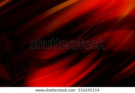 abstract background - red wave  - stock photo