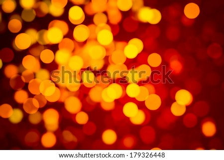Abstract background. Representation of love, passion or summer. De-focused particles or lights. - stock photo