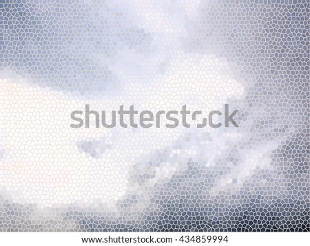 Abstract background Sky and clouds version effect - stock photo