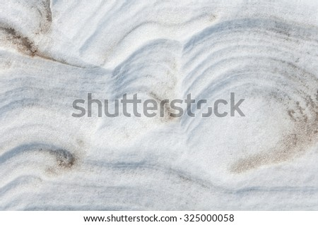 abstract background snow dunes of sand - stock photo
