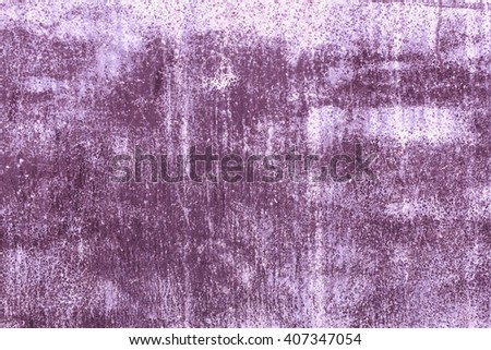 Abstract background texture cement wall in purple and violet tone. Grunge wall texture in purple and violet tone. Cement texture and background with copy space for text or image. - stock photo