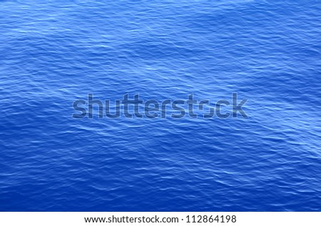 Abstract Background Texture Of Calm Tropical Ocean Water - stock photo