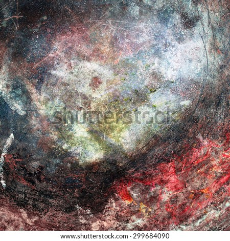 Abstract background - texture of old copper - stock photo
