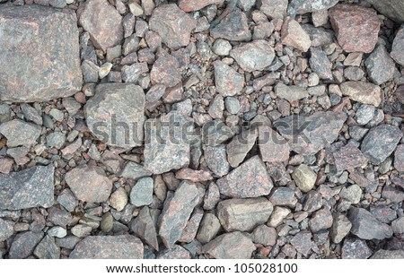 Abstract background texture of some gravel stones