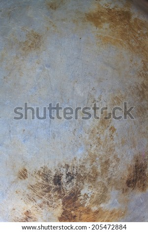 Abstract background, Texture of the old bottom of pot - stock photo