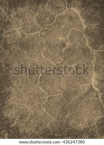 Abstract background textured in soft grey and sepia tones with bright cracks.