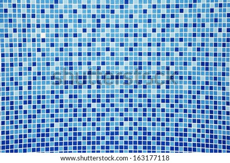 Abstract background - tiles on the bottom of the pool
