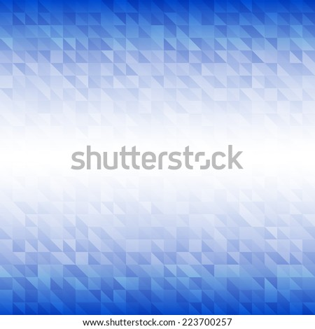 Abstract Background using Israel flag colors, raster illustration