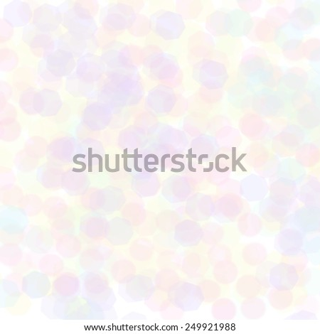 Abstract Background - White Glowing Background With Sparkling Circles / White Glowing Background - stock photo
