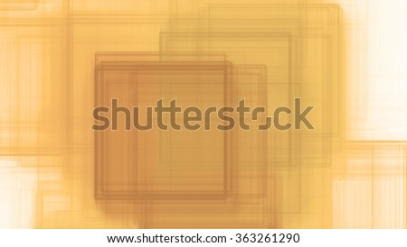 Abstract background with a detailed interconnected intersecting square pattern in sepia tinted pastel orange,pink,green